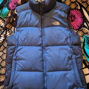 The North Face 550 down vest size medium